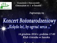 Koncert Bożonarodzeniowy dla Marcina