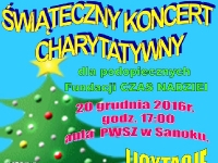 Świąteczny Koncert Charytatywny dla podopiecznych Fundacji Czas Nadziei